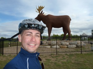 The Big Moose in Moose Jaw
