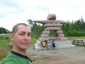 Inukshuk in Vermillion Bay, Ontario